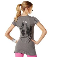 Zumba Fitness One More Dance Tee - Thunderin Grey