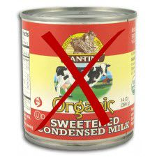 Healthy Sweetened Condensed Milk made with Coconut Milk