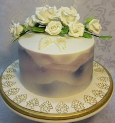 Funeral+Cake+for+my+Mum++-+Cake+by+Sugarart+Cakes