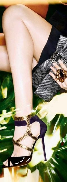 Jimmy Choo ~Latest Trendy Luxurious Women's Fashion - Haute Couture - dresses, jackets, bags, jewelry, shoes etc.