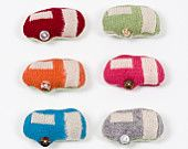 Caravan Badge Brooches by Elsy and Vine
