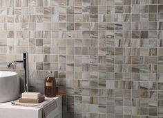 mosaico effetto marmo