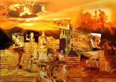 Vakantie fotocollage laten maken van Thailand.