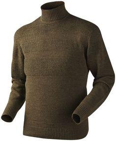 GOLF NORMAN JERSEY FAUN BROWN MELANGE   Odzież \ Swetry męskie