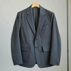 YAECA - 2way 3B Jacket #c.gray/set up