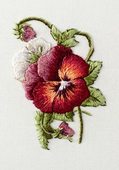 "From Trish Burr's Miniature Needle Painting book. Finished size: 1.5""w x 2.25""h."