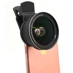 2 in 1 iPhone Camera Lens Pro 15XMacro Lens  05X Super Wide Angle Lens Kit Clip on Cell Phone Lens Camera Lens Kits for iPhone 7 6s 6 5s  Most Smartphones ** Continue to the product at the image link.