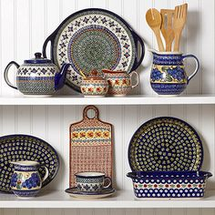 This will be my kitchen, but with redware :)