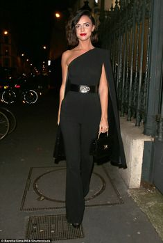 a14229dc2d2b1a Looking good  Lucy Mecklenburgh cemented her sartorial credentials as she  arrived at the Gun Pei