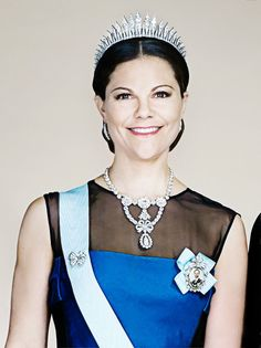 theirroyalhighnessespost: Crown Princess Victoria of Sweden