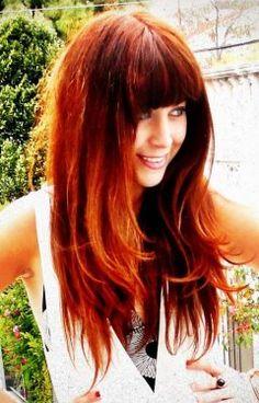 ooo that haircolor