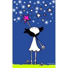 Lámina 'Una nueva estrella' Encenderás una nueva estrella por cada corazón que ilumina nuestra vida.