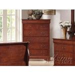 $395.00  Acme Furniture - Louis Philippe Chest With Hidden Drawer - 9809B