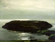 George Bellows - An Island in the Sea
