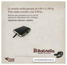 Cliente: Batistella - Zapatería.  Agencia: INNOVA | Digital Marketing Agency.