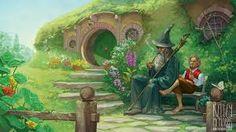 """Résultat de recherche d'images pour """"dungeons and dragons illustrations hobbit"""""""