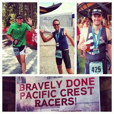 What did you do with your Saturday? Run a half iron man? Bravely done Geoff, Ryan, & Mike @Joe Lake Brewery
