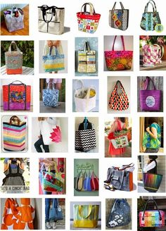 Free pattern day: Tote bags !:
