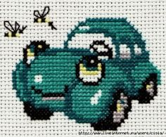 Embroidery on baby clothes - crochet . Cross Stitch For Kids, Mini Cross Stitch, Cross Stitch Animals, Cross Stitching, Cross Stitch Embroidery, Embroidery Patterns, Baby Clothes Patterns, Crochet Baby Clothes, Kids Knitting Patterns