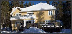 Villa Andromède située à Charlevoix et peut accueillir 16 personnes. Idéal pour des réunions de famille ou corporatives, un lac-à-l'épaule ou autre occasion