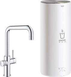GROHE Red New Duo Keukenkraan – Kokend water kraan + Combi boiler – U-Uitloop – Chroom