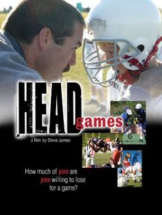 A revealing documentary about the concussion crisis in sports. Athletes and parents share their personal struggles about the devastating and long-term effects of concussions. Head Games, Hoop Dreams, Instant Video, The Lives Of Others, Movie Trailers, Deadpool Videos, Google Play, Documentaries, Tv Shows
