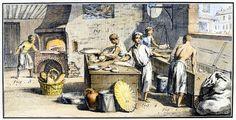 Resultado de imagen para 18th century bakery