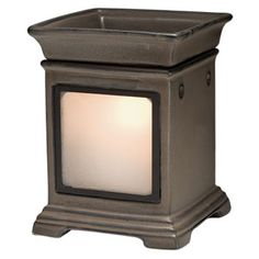 Gallery Warmer - Charcoal --  This Scentsy Candle Wax Warmer is the perfect setting for your collection of frames. See the eye-catching light.