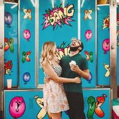 Fun engagement session at the carnival!
