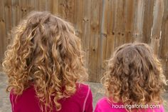 Rag Rollers, did this on my daughter's hair - works great.
