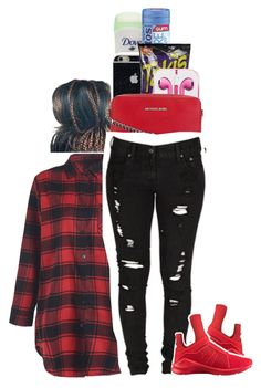 """3717"" by princess-sinia ❤ liked on Polyvore featuring Ultimate, Fuego, MICHAEL Michael Kors, Puma and Levi's"