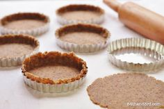 I adore this crust. I discovered it ages ago over on Maria's site, made it that very evening and filled it with some form of spiced sweet potato custard, made it again for pumpkin tarts around Christmas and again.