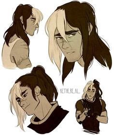 Shiro with long hair from Voltron Legendary Defender Form Voltron, Voltron Ships, Voltron Klance, Shiro Voltron, Dreamworks, Takashi Shirogane, Boko No, Voltron Fanart, Doja Cat