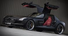 the remarkable mercedes benz sls amg has recently received some special attention from the german tuners at kicherer