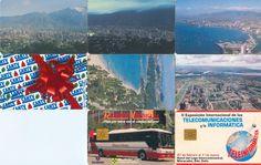 8 Phonecard / Tarjetas Telefonicas Venezuela Cantv Ciudades de Venezuela y Vs