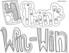 Habits of Happy Kids Coloring Pages and Printables at