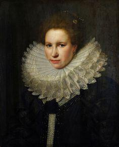 https://flic.kr/p/rEnwDp | VAN MIEREVELT, MICHIEL - Portrait of a Woman. 1618 |