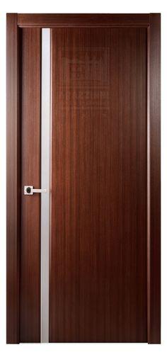 Grand 208 Interior Door In A Mahogany Finish