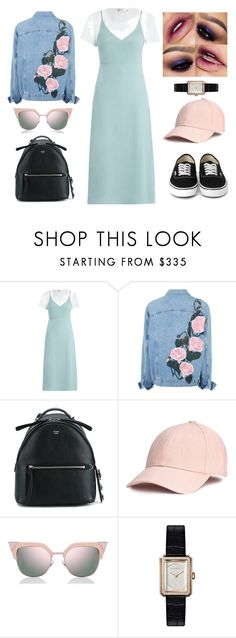 """""""ootd hangout with my friends"""" by flyanningrum ❤ liked on Polyvore featuring Zimmermann, Fendi and Chanel"""