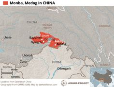 3a. Medog County, China - The least populated county in China and the most difficult to reach.