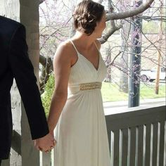 Elegant Prom (Formal) Dress- Grecian Style Elegant Prom (Formal) Dress- Grecian Style. Beautiful dress, drape is very flattering. Floor length for 5'5-5'8 depending on heel size.  Reasonable offers considered. Ships same day as purchase. IGNITE EVENINGS Dresses Prom