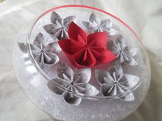 Unique paper flower wedding centerpiece by thesundayflower on Etsy, $28.00