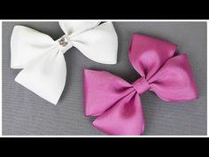 How To Make A Hair Bow I No sew Hair Bow I DIY Easy Bow - YouTube
