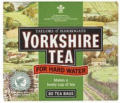 Yorkshire Tea Bags Hard Water ( 2 X 80 Pack ) *** Want additional info? Click on the image.