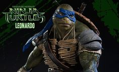 Share this with your friends and receive a $15 promo code. Click here to write your message. TMNT Leonardo Polystone Statue