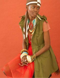 tribal lady   laha magazine