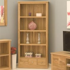 mobel oak large bookcase 3 shelf bookcase large bookcase shelves contemporary furniture