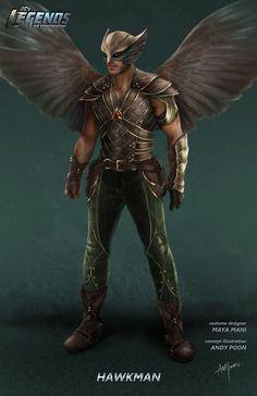 Hawkman - concept art