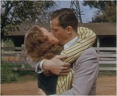 Oh, la! Jeanne Crain and yummy Dana Andrews in State Fair