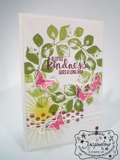 Stampin' Up! by Stampin Jacqueline: Kinda Eclectic